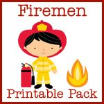 Have fun talking about fire safety and some  wonderful community helpers with this printable  pack about firemen!