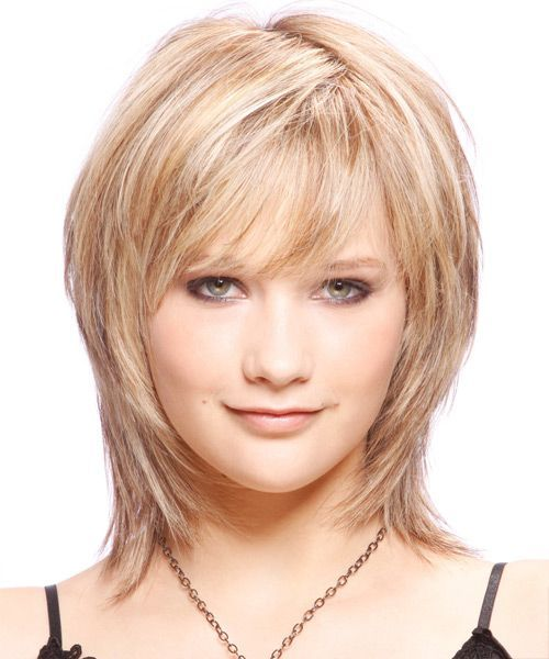 Image result for mid length haircuts for fine hair over 50