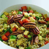 La quinoa confeti es una receta fácil, divertida y nutritiva.