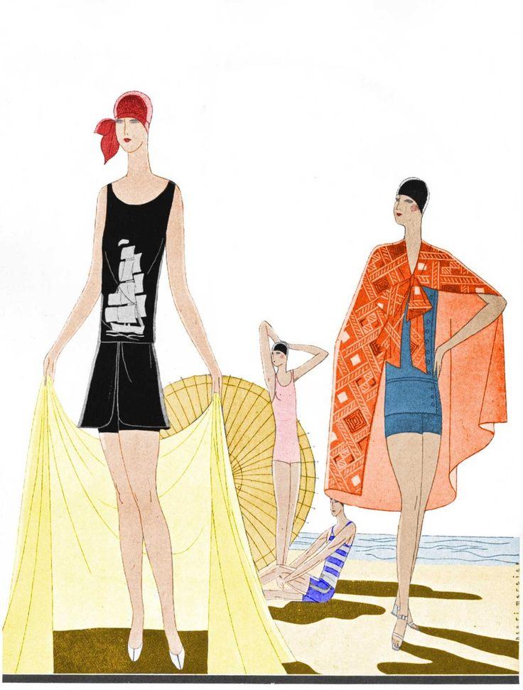 17 best images about art deco on pinterest fantastic art for Art deco illustration