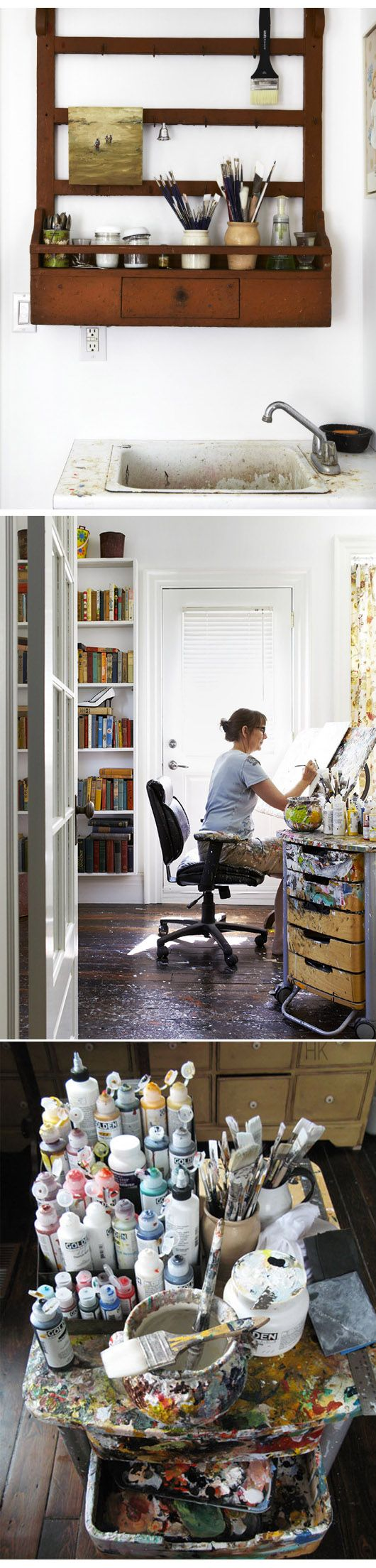 Holly Farrell #workspace #studio http://www.hollyfarrell.com/