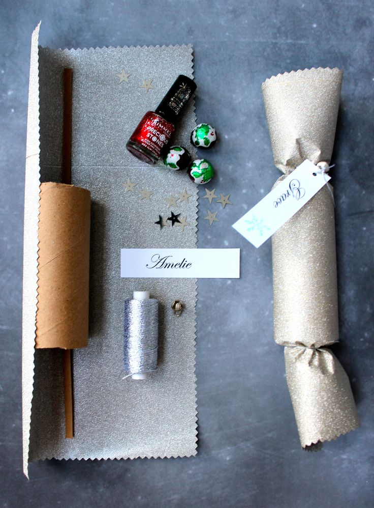 DIY Easy Christmas Cracker tutorial