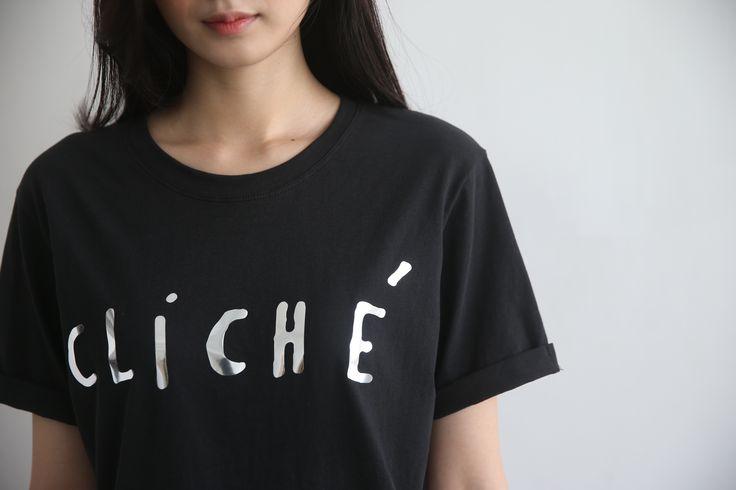 Cliche t-shirt / 바이말리 / 클리쉐 티셔츠 / 티셔츠