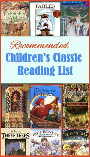Children's Classic Reading List - Recommending Reading List of Fairy Tales, Folk Tales, and Fables
