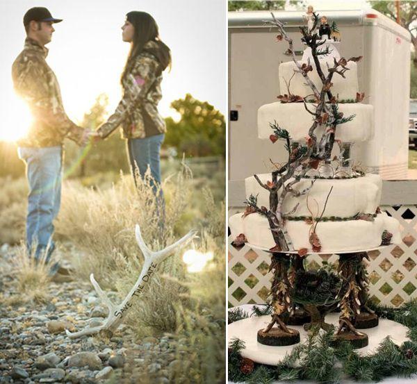Camo Wedding Ideas Rustic Barn: Country Rustic Camo Wedding Ideas And Wedding Invitations