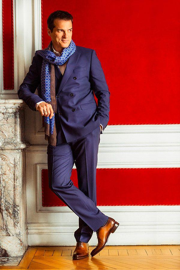 Model homme Lookbook fall winter 2016 Richelieu Lorenzo patiné