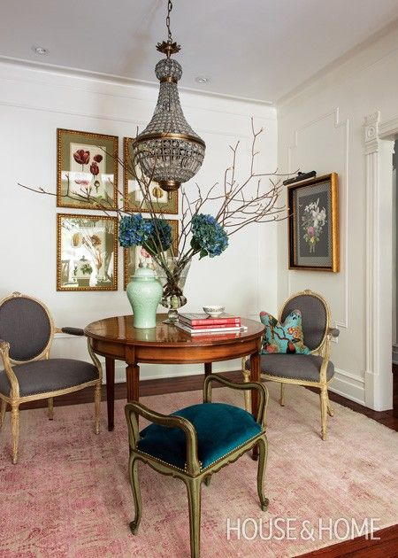 Photo Gallery: Les Ensembliers Interiors. Dining Room ...