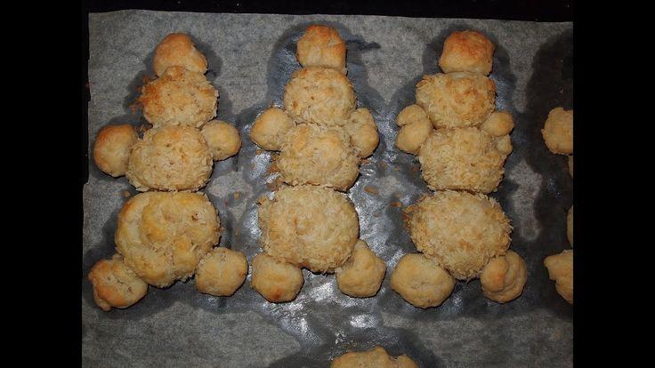 """Новогоднее печенье """"Снеговики""""_Творожное печенье для детей"""