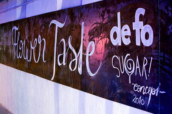 Flower-taste by Dóra Fónagy, via Behance