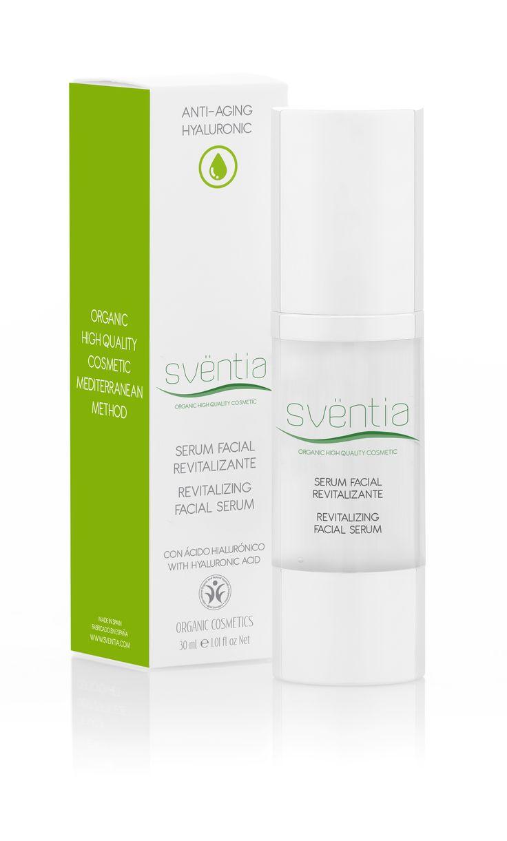 Sventia Hyaluronic anti-age facial serum 30ml/Hydratačný koncentrát s revolučným efektom, prírodná a organická kozmetika - certifikát BDIH