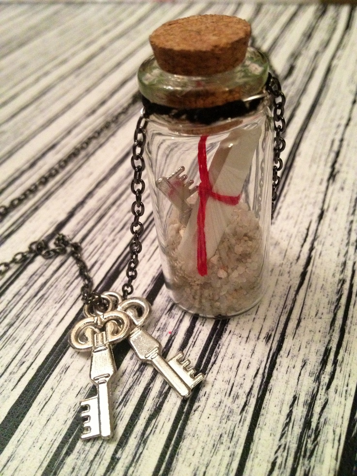 176 best jewelry bottles images on pinterest bottle for Pill bottle jewelry