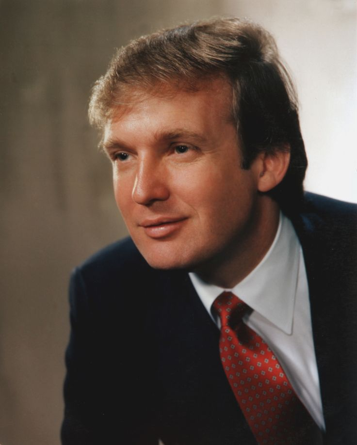 Portrait of real estate mogul Donald John Trump (b.1946), smiling slightly and facing to his right, 1983.  New York.  (Photo by Bachrach/Getty Images) via @AOL_Lifestyle Read more: http://m.aol.com/article/2016/06/14/trump-gains-slightly-on-clinton-after-florida-attack-poll/21395432/?a_dgi=aolshare_pinterest#fullscreen