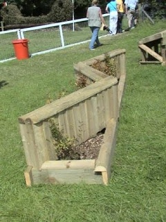 Image Detail for - Not Just Logs: Examples of portable cross country jumps