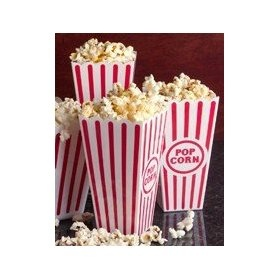 plastic popcorn containers for table centerpieces