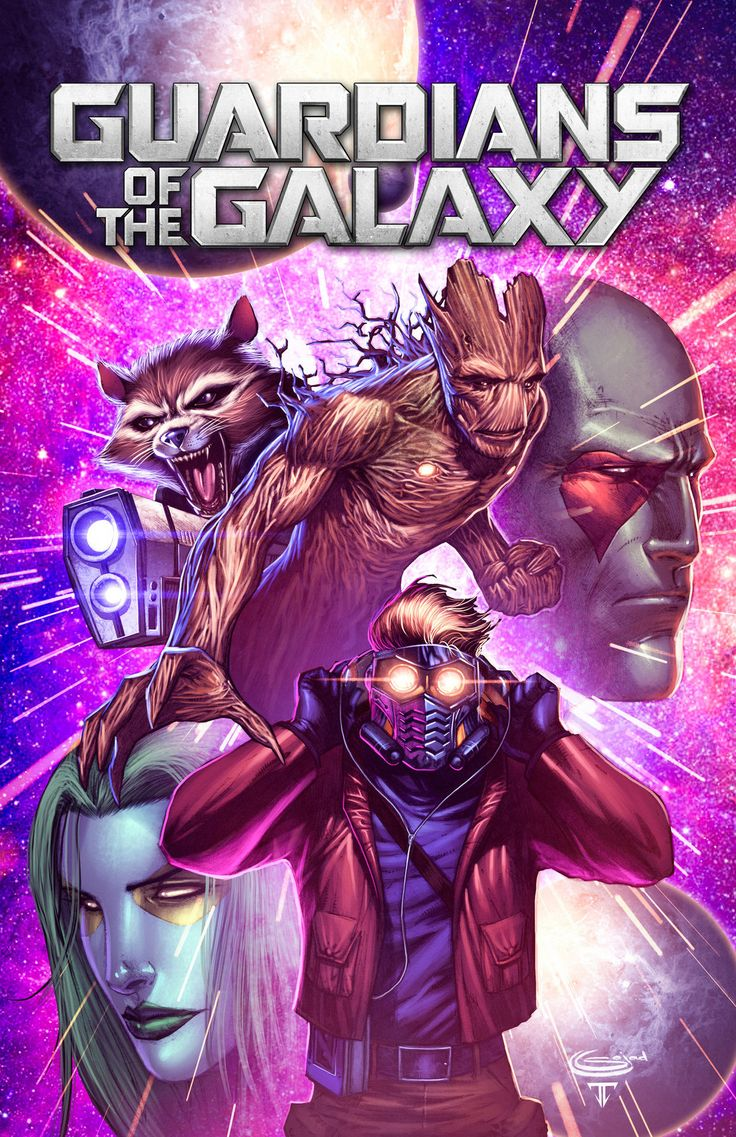 Guardians of the Galaxy Colors by Juan Fernandez Pencils by Sajad Shah