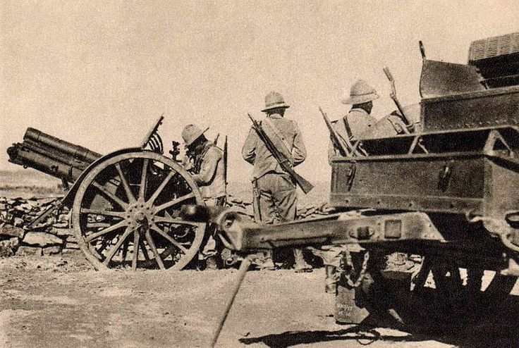 Italian artillery in Ethiopia in 1936. This Day in History: May 9, 1936 Italy formally annexes Ethiopia after taking the capital Addis Ababa on May 5 http://dingeengoete.blogspot.com/