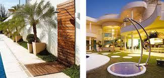 Resultado de imagem para paisagismo com piscina barato e facil