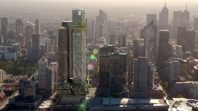 THE Ritz-Carlton is coming to Melbourne to overshadow Australia's existing luxury hotels.