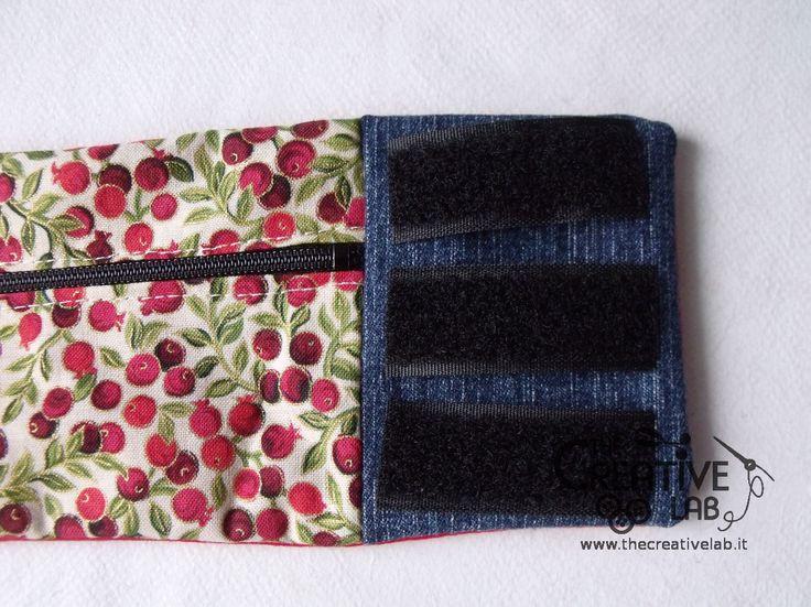 tutorial borsello portafoglio polso marsupio fai da te 22