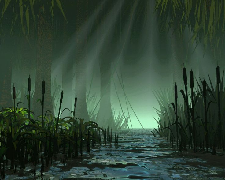 Image Detail For Dark Mysterious Hd Fantasy: 38 Best Images About FANTASY SWAMP On Pinterest