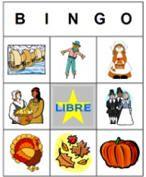 Cartones personalizados de bingo de DLTK