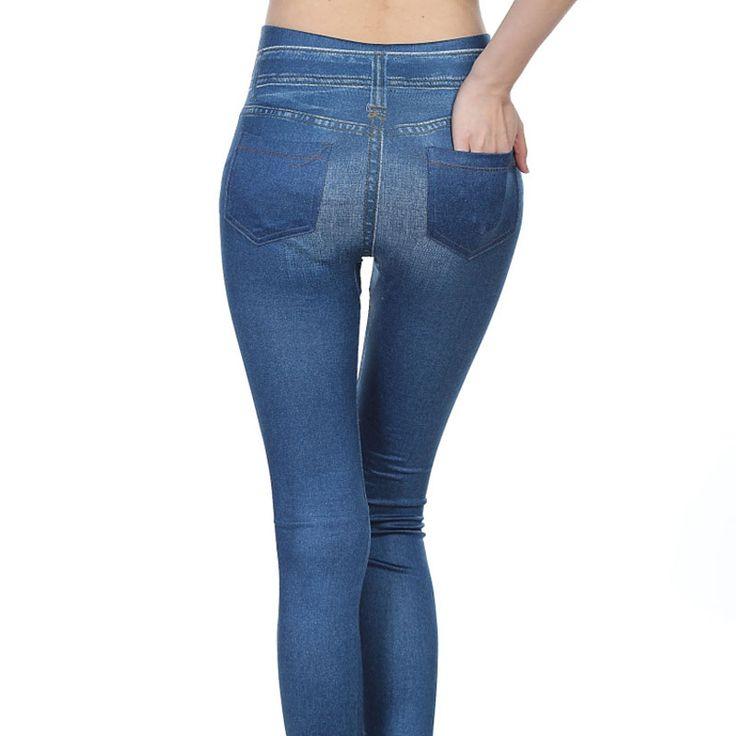 Popular Women Jeggings Jean Hot sale Genie Slim Jegging Winter Women Jeggings And Women Fashion Leggings With2 Real Pockets