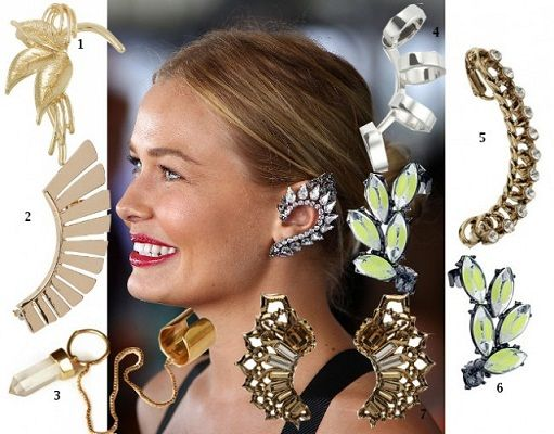 EarCuff Ear Cuffs Celebrity #Fashion Latest Jewelry Trends