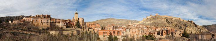 Albarracin, Teruel, Aragon, Spain [12812x2470]