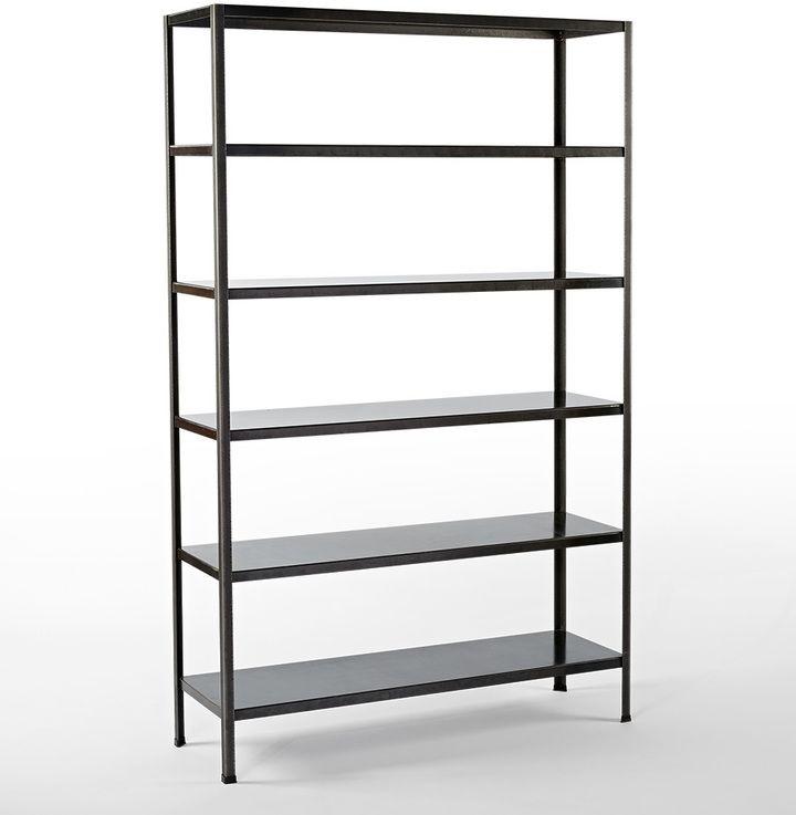 Rejuvenation Holman Metal Bookcase