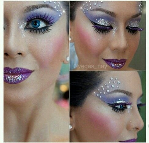 Princess or fairy make-up