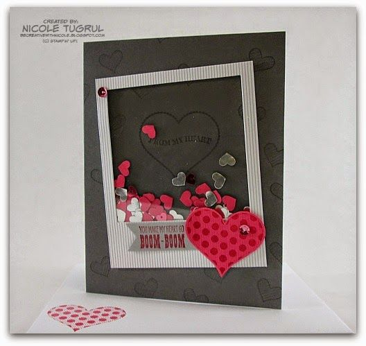 Be Creative with Nicole: Preview Week is Here!! Shaker Valentine with Groovy Love