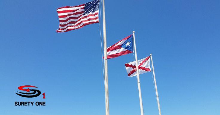 Thank you, veteran members of our staff and all veterans and their families. We remember your sacrifice!  Mil gracias por su sacrificio!  #veteransday #veterans #suretyone #unitedstates #puertorico