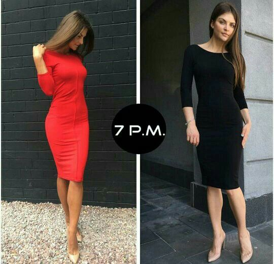 Платье с открытой спиной #7pm • 699 грн.,•итальянский трикотаж • Цвета: черный, красный, серый • рукав 3/4 либо длинный