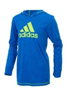 Adidas Coast To Coast Pullover Toddler Boys - Bright Blue - 4T