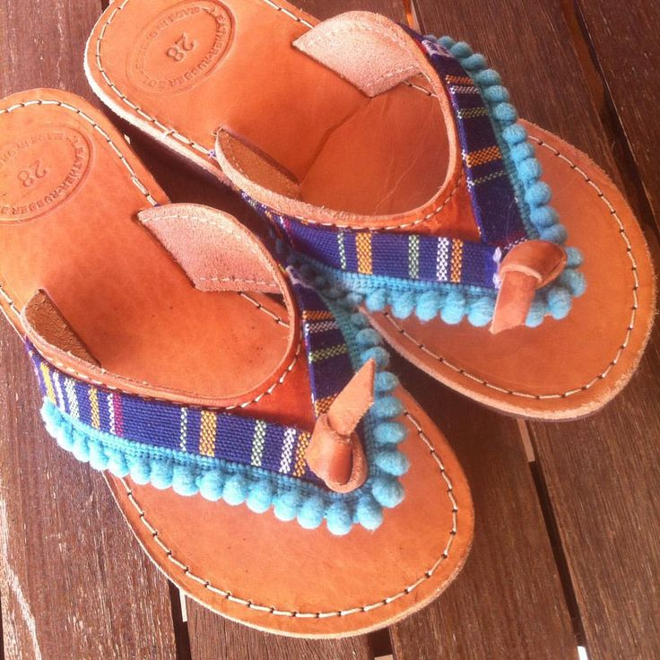 "@my_patchwork_place) on Instagram: ""#leathersandals #boho #pompom #kids #handmade #my_patchwork_place #greekcreators #sandals #boho"""