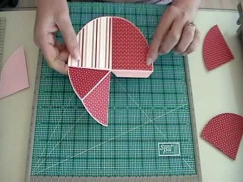 Exploding Circle/Pop-up Circle Book Tutorial: I really enjoyed watching this tutorial on how to create an exploding circle book or card.  Very well done!