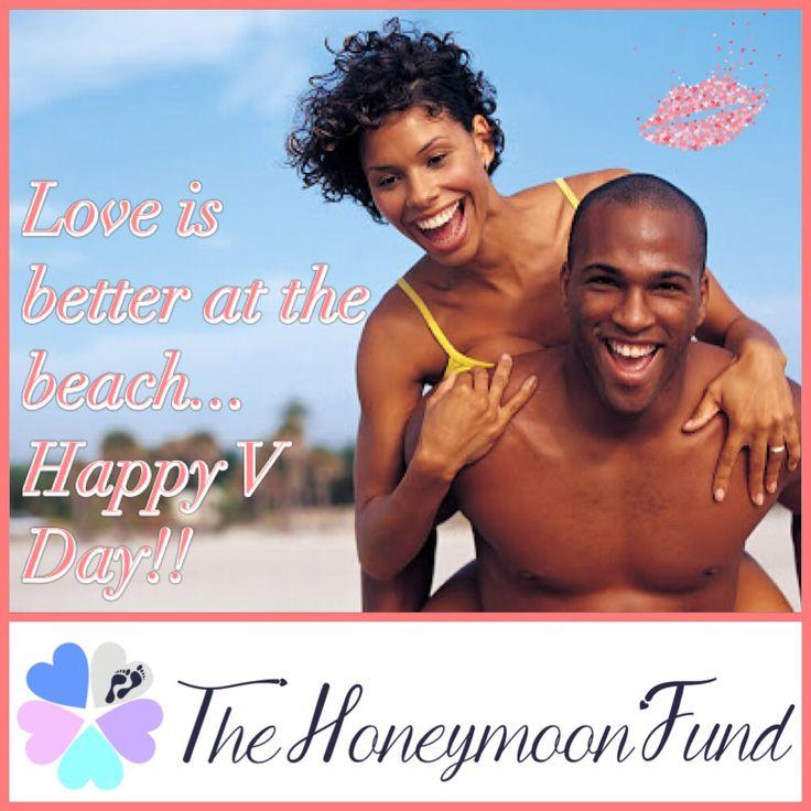 Happy Valentine's Day <3 #loveisbetteratthebeach #thehoneymoonfund
