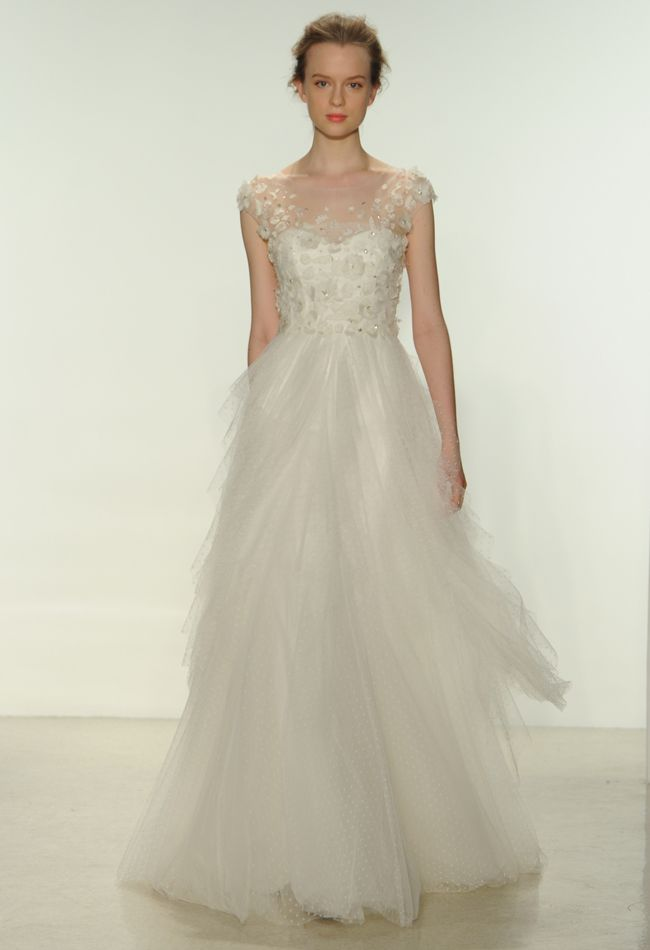 Christos Spring 2015 wedding dress   Kurt Wilberding   The Knot blog