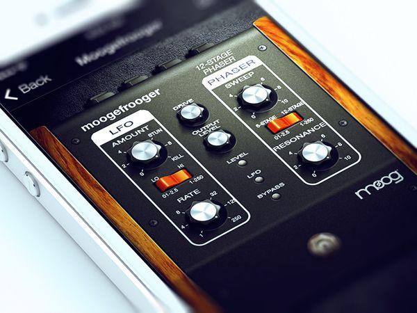Guitar Amps iOS App by Alex Bender, via Behance