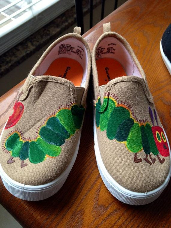 the hungry caterpillar shoes