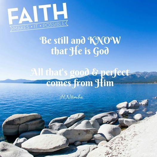 #Faith Hang in there, it will all work out in the end