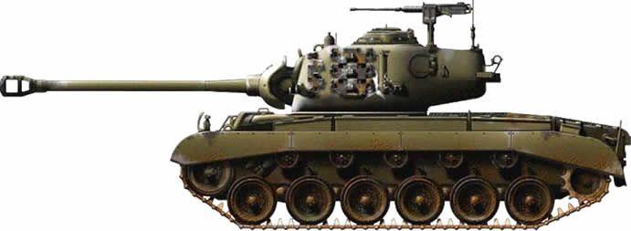 Тешки тенк M26 Pershing