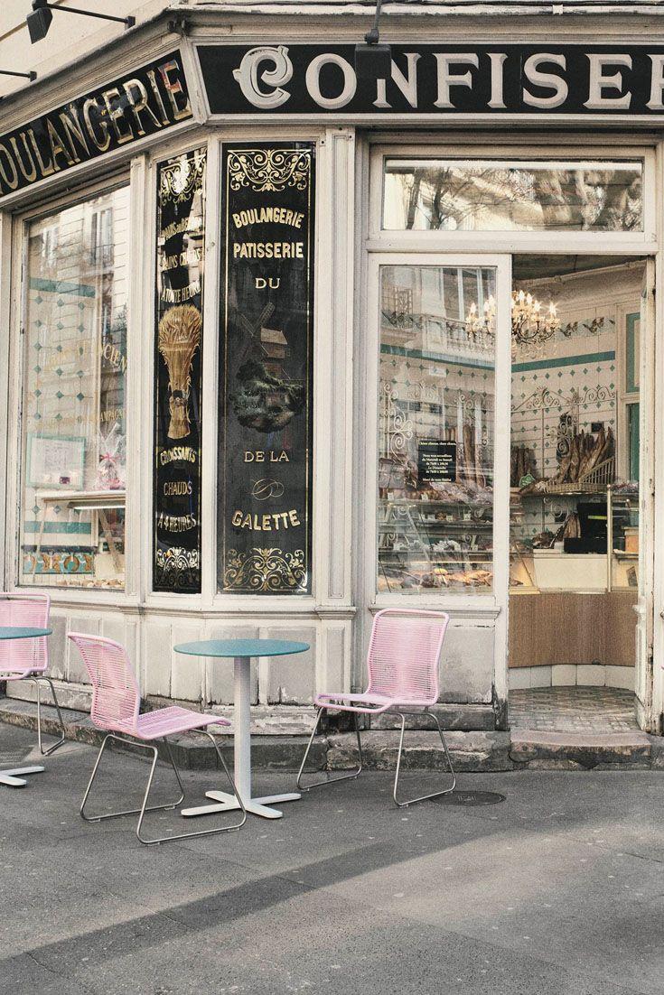 Panton One vacationing in Paris. #montana #furniture #nordic #summer #panton #chair #french #cafe