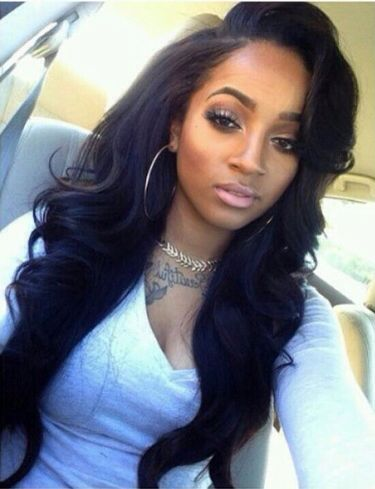 Cute Black Hairstyles With Weave Hair