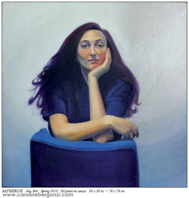 "Art studio glimpse: #Live #portraits by #Caroline Bergonzi.  Extract of the ""Caroline Bergonzi Creative Odyssey"" 400-page art #book, available on #Amazon."