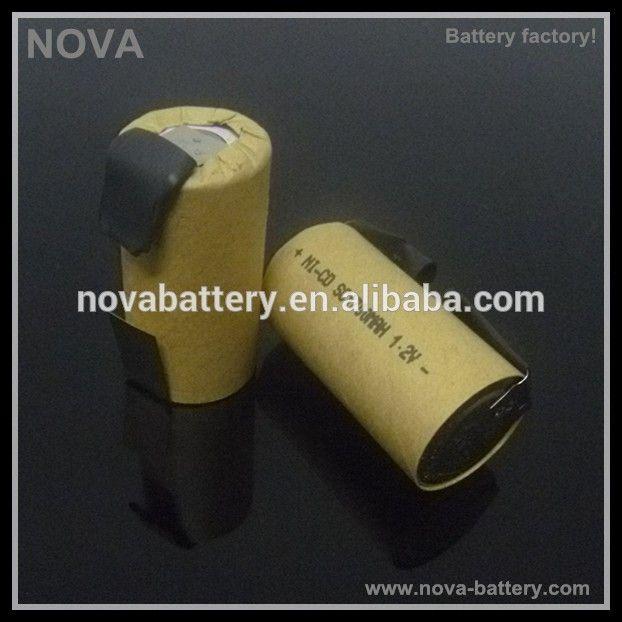 AA 1300mAh 7.2V rechargeable NiMH golden power battery Power craft cordless drill battery#power craft cordless drill battery#batteries
