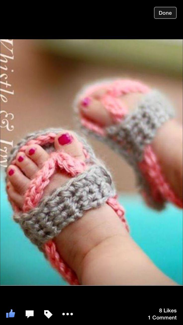 Precious sandals..