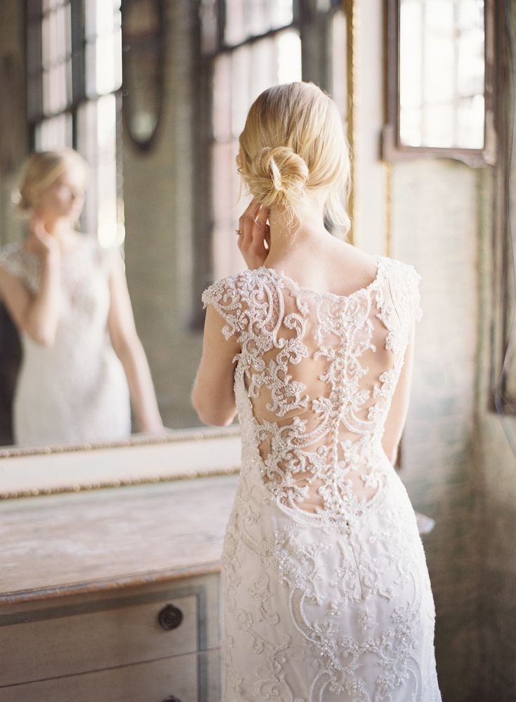 No detail is more important than the dress and with illusion lace to shimmering capes, Maggie Sottero Designs never fails to stun us with their beautiful creations. #sponsored | photography: Judy Pak
