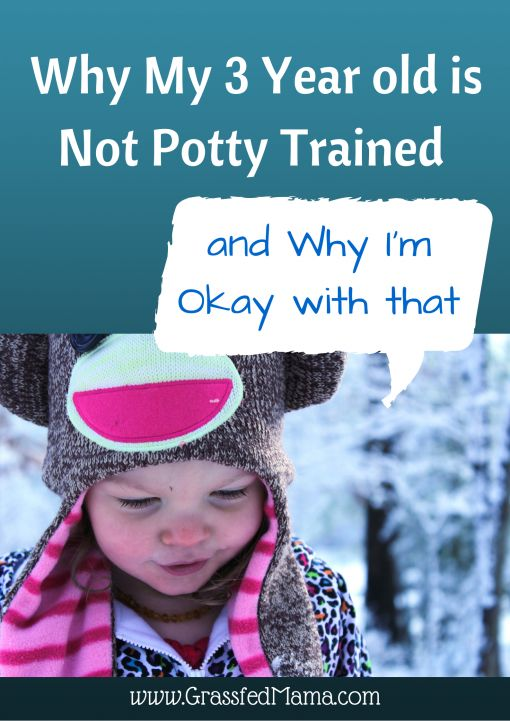 Why my 3 year old is not potty trained, and why I'm okay with that. potty training, potty training regression, preschooler not potty trained,