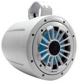 """MB Quart - 6.5"""" 2-Way Marine Tower Speaker with Polypropylene Cone (Each) - Gray"""